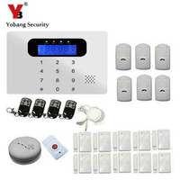 Security Alarm System 433Mhz Easy To Operate GSM SMS Wireless Home Burglar Alarm System For Complete