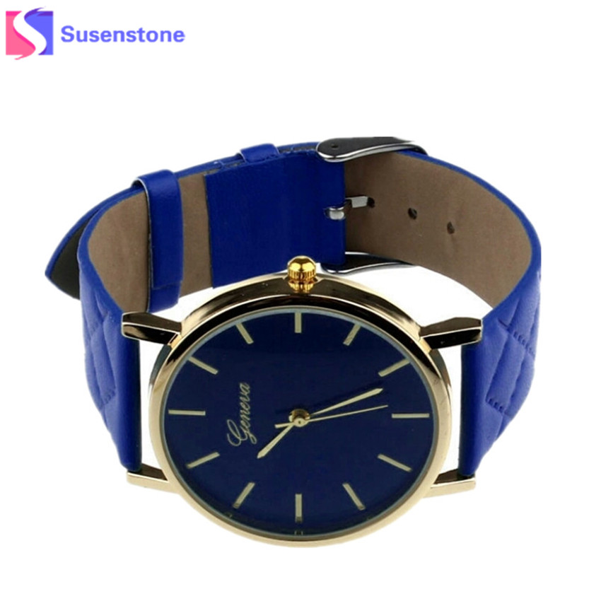 2018 Women Watches Casual Leather Band Quartz Analog Wrist Watch Ladies Clock Dress Watches relogio feminino Wavors montre femme цена и фото
