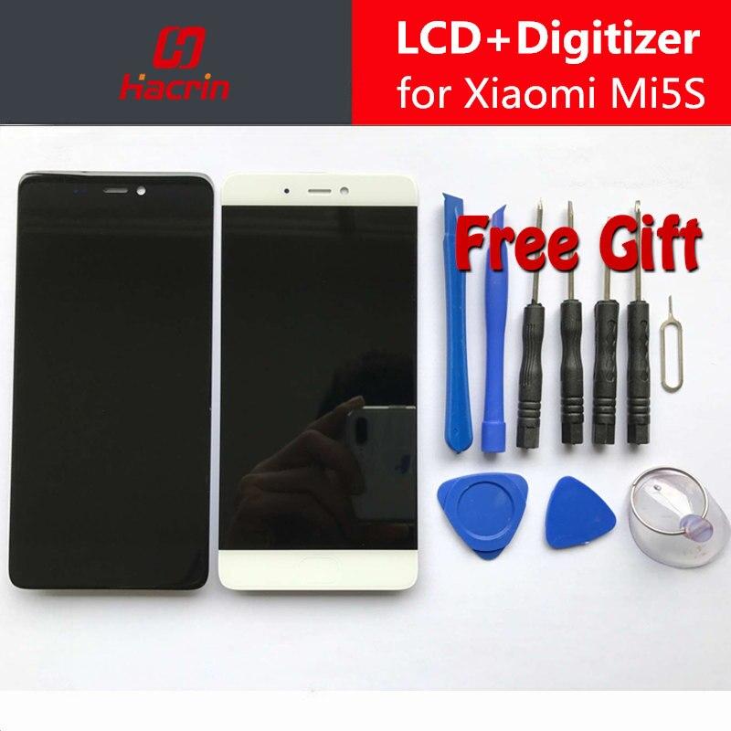 Xiao Mi 5S ЖК-дисплей дисплей + Сенсорный экран планшета Ассамблеи Замена предварительного Mi um Для Сяо Mi 5S 5.15 дюймов