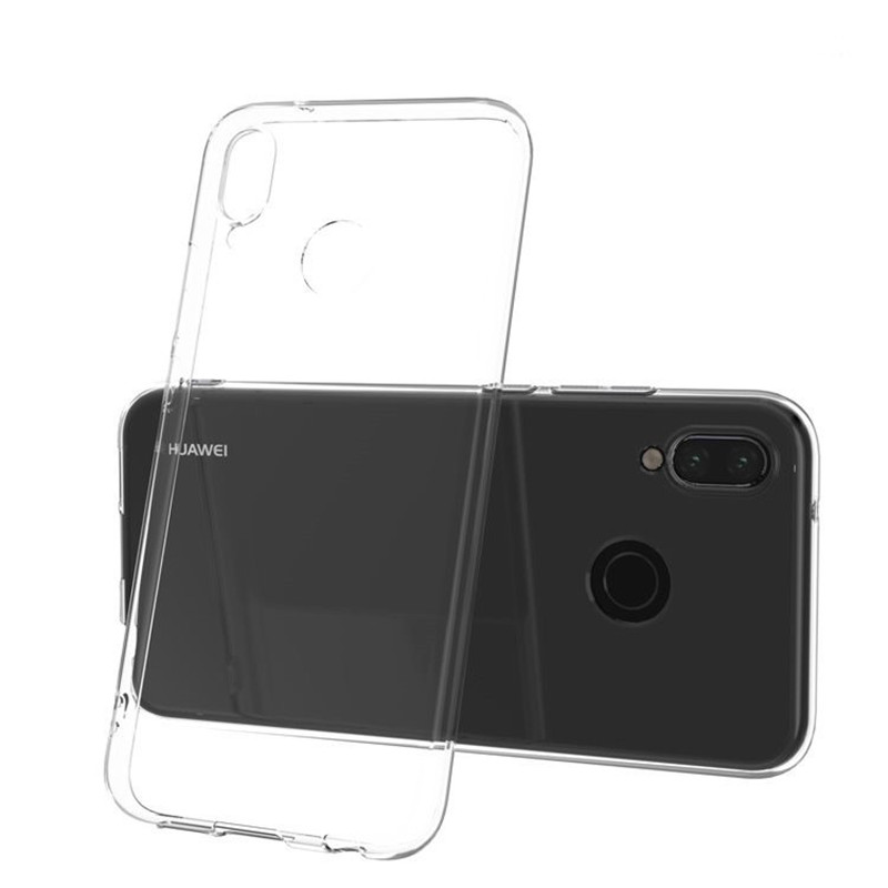 Transparent TPU For Huawei P20 Lite Case Clear Cover Case For Huawei P Smart NOVA3 2plus honor 9 10 lite 8 Y6 PRO enjoy 5 Case in Fitted Cases from Cellphones Telecommunications