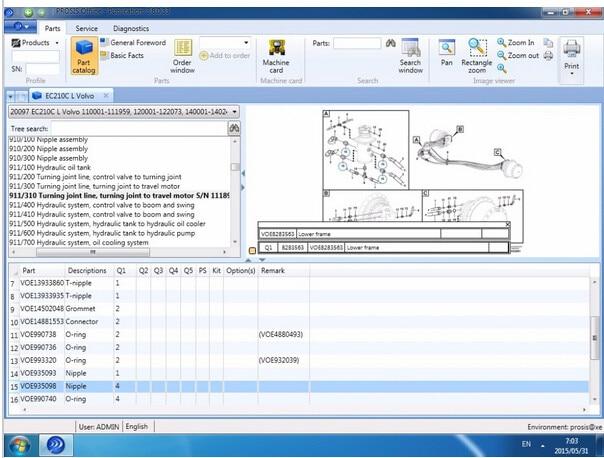 Online Shop Construction Equipment PROSIS 52017 PartsRepair