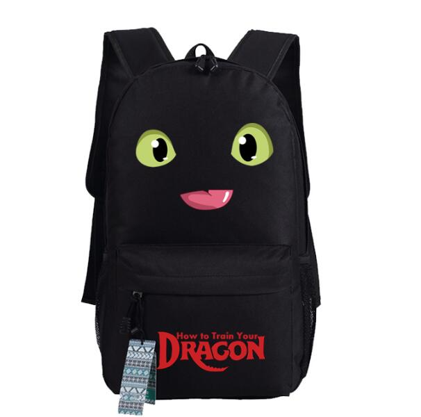 Dragon Master How To Train Your Dragon Aberdeen Cosplay Backpack School Computer Bag Gift Xmas #2
