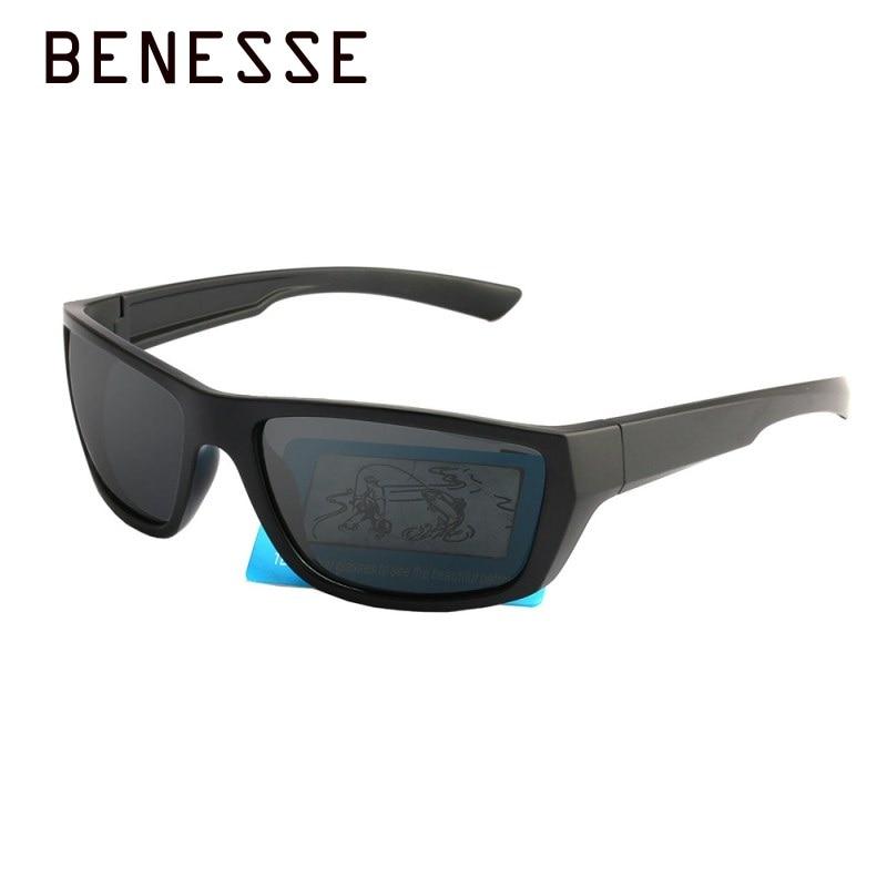 Новой личности спортивных Квадратные солнцезащитные очки мода поляризованный человек Рыбалка зонт зеркало УФ-защита солнцезащитные очки ...