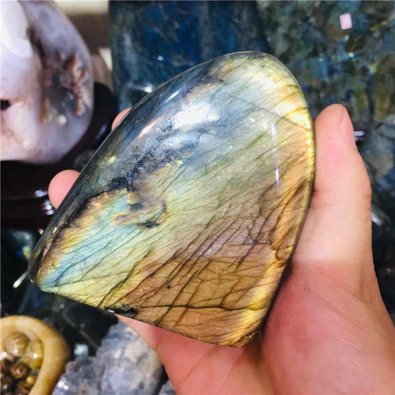ธรรมชาติของแท้สีฟ้า Labradorite ตกแต่ง domestic adornment evolution