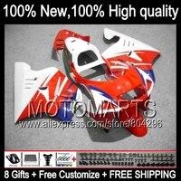 Комбинезоны для Honda красный белый NSR250R MC21 PGM3 90 93 NSR 250R 14JK5 NSR250 R 90 91 92 93 1990 1991 1992 1993 Синий Красный обтекателя