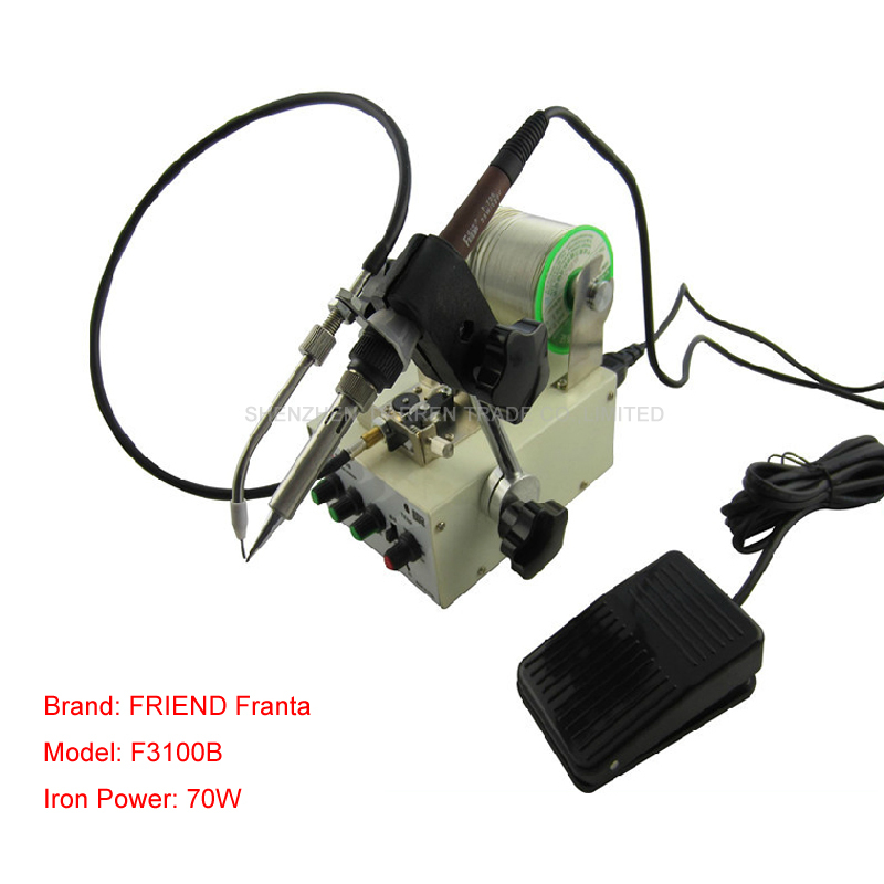 Foot switch send tin soldering machine soldering,Automatic tin feeding machine constant temperature soldering iron automatic tin feeding machine constant temperature soldering iron teclast multi function foot soldering machine f3100a