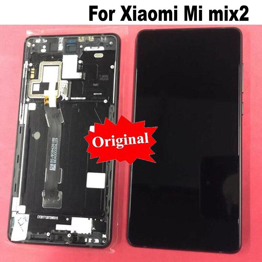 LTPro D'origine Qualité LCD Affichage à L'écran Tactile Digitizer Assemblée avec Cadre Pour Xiao mi mi x 2 mi x2 mi mi x 2 téléphone remplacement