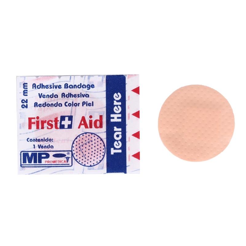 100 pces quentes respirável band-aids bandagem impermeável bandagem adesiva ferida médica ultra-fina emergência primeiros socorros bandagem