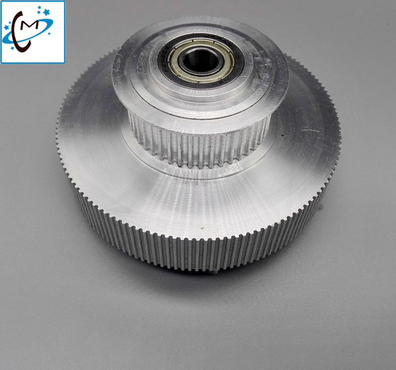 Top quality !! Inkjet Printer spare parts Mimaki motor pulley for JV33 JV5 Tower pully mimaki jv33 driving pulley on selling jv33 keyboard pcb assy printer parts