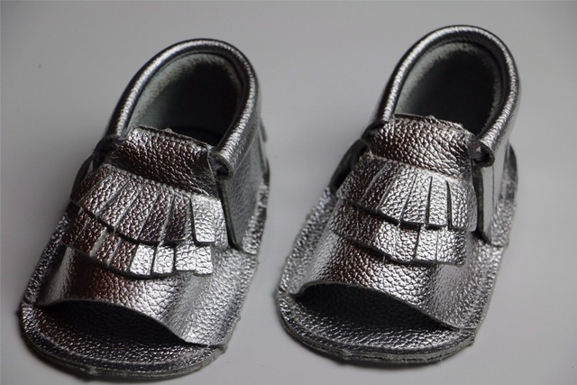 2016 new hot spring summer Geniune leather baby boys girls shoes First Walkers Toddler baby fringe moccasins for new born babies