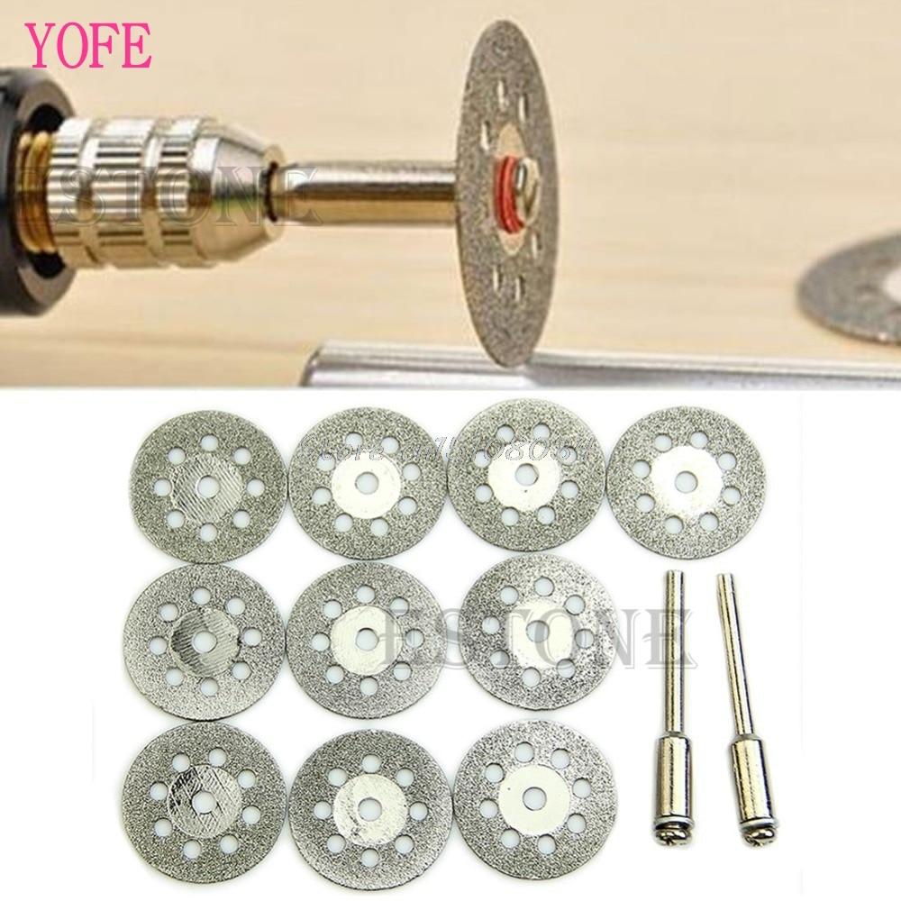 New Rotary Tool Circular Saw Blades Cutting Wheel Discs Mandrel Dremel Cutoff 22mm S08 Wholesale&DropShip