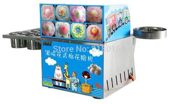 Commercial Fancy DIY Cotton Candy Maker Gas Cotton Sugar Floss Machine Snack Equipment Flower RQMHT china manufacturer commercial cotton candy machine cotton candy machine sugar candy floss machine