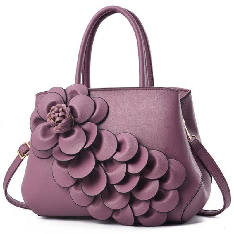 2018 new Fashion 3D floral Women Bags For Women Casual Shopping Tote Luxury Handbag Female Brand Designer shoulder messenger bag2018 new Fashion 3D floral Women Bags For Women Casual Shopping Tote Luxury Handbag Female Brand Designer shoulder messenger bag