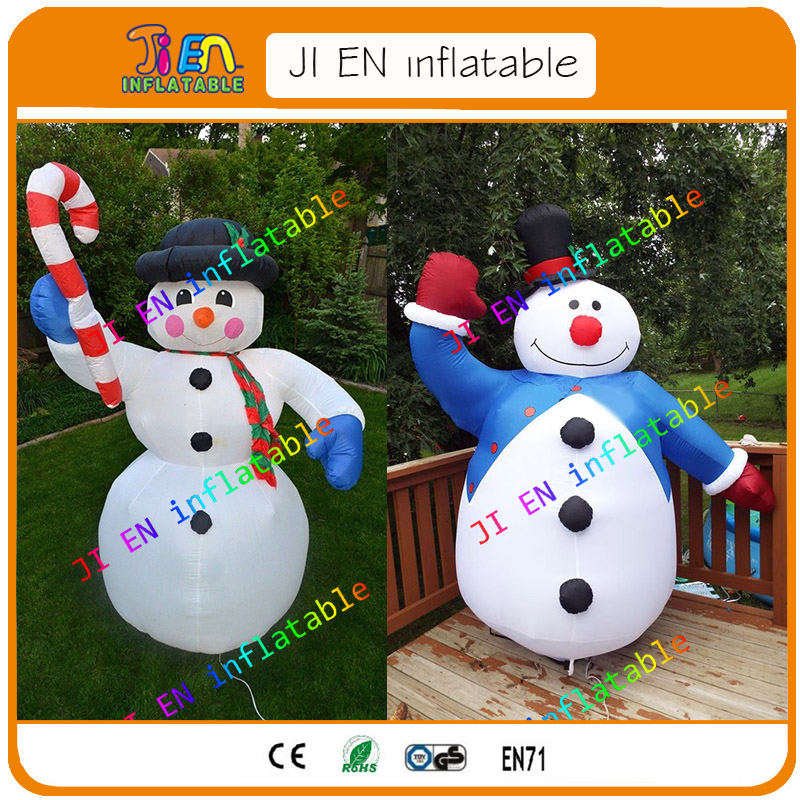 Free Shipping Whole Sale Inflatable Snowman For Christmas