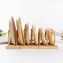 1 Набор х деревянная тарелка подставка для посуды держатель палочки для еды слив деревянные палочки для еды крышечки для крышек демонстрационная стойка