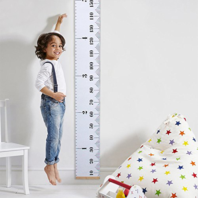 Wall Hanging Height Ruler Wall Sticker Baby Growth Chart