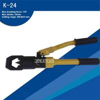 Hot Recommend! Hydraulic Cutting Tools Screw Cutter Tools\/ Integral Hydraulic Nut Cutter K-24 With Cutting Range Of M8-M24 mm