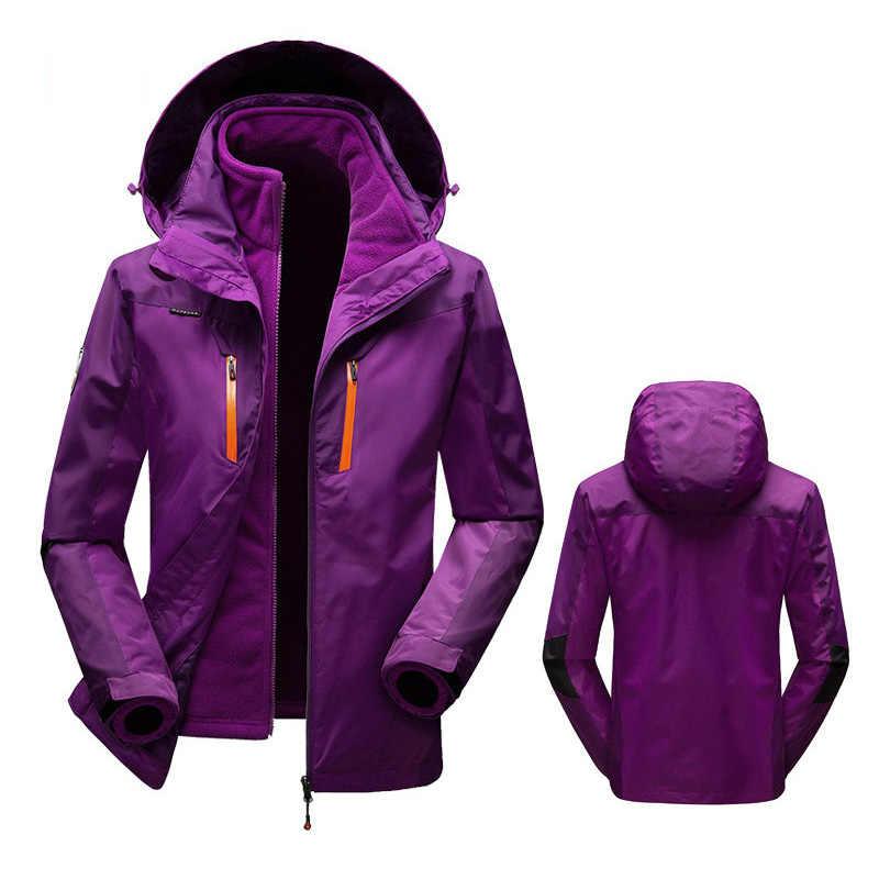 Русская зима-35 градусов лыжный костюм женский сноуборд костюмы водонепроницаемый супер теплый лыжная куртка + брюки для женщин Спорт на открытом воздухе пальто