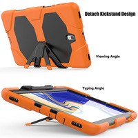 """galaxy s4 Case For Samsung galaxy Tab S4 8.0"""" T330 T331 T335 Waterproof Shock Dirt Snow Sand Proof Extreme Heavy Duty Kickstand Cover (4)"""