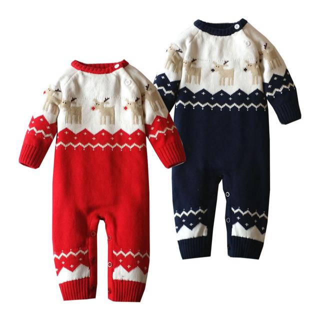 Jersey de Punto bebé Mameluco 0-22 Meses 100% Algodón de Manga Larga Primavera Otoño Invierno de La Muchacha del Mono Del Bebé ropa