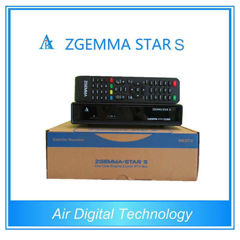 3pcs Original zgemma star s DVB S2 enigma 2 linux os Digital Satellite Receiver replace to