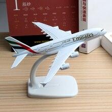 16 см Объединенные Арабские Эмираты модель самолета A380 ОАЭ Airlines Airbus Модель Боинг 777 B777 авиации модель самолета игрушки 1:400