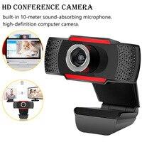 HD Pro веб-камера HD 300 мегапиксельная широкоформатная с поглощающим микрофоном Микрофон для Skype для Android tv вращающаяся Компьютерная камера