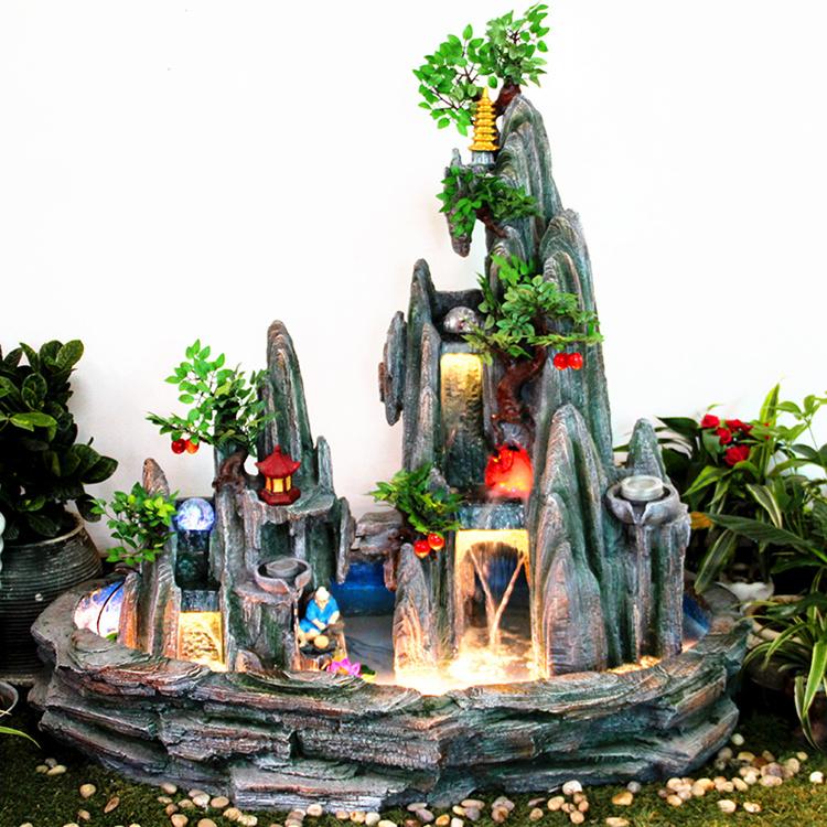 muebles para el hogar regalos fuente de agua bonsai rocalla rueda feng shui suerte decoracin