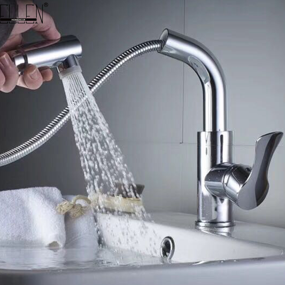 Water mixer Basin sink faucet basin mixer tap brass taps bathroom chrome faucet pull out modern