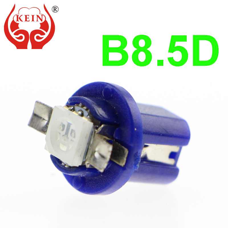 KEIN 1 pieces B8 5D 509T B8 5 5050 Led 1 SMD T5 Lamp Car Gauge