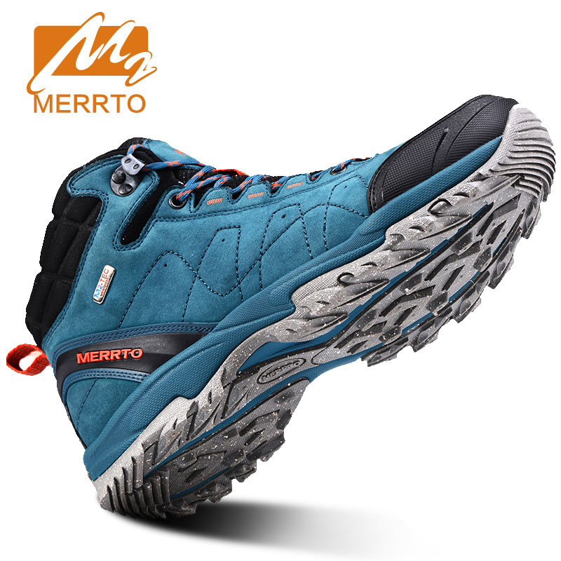 MERRTO Man Outdoor Hiking Shoes Athletic Trekking Boots  Climbing Walking Sneakers Waterproof Climbing Outventure Hunting Shoes