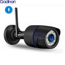 Gadinan hd 1080 p 720 p 무선 sd 카드 슬롯 오디오 카메라 2.0mp wifi 보안 카메라 ir 야간 방수 야외 yoosee