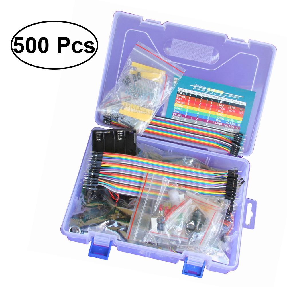 Arduino Project Detailed Tutorial Reliable Components Arduino Kit Beadboard Kit Starter Kit for Mega Nano UNO R3 kt001 arduino uno r3 starter kit