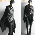 Nueva llegada del invierno 2017 ropa de hombre estilo británico personalidad suelta prendas de vestir exteriores zanja masculino medio-largo decoración del bloque del color