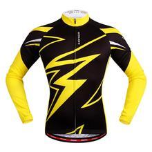 Мужские велосипедные Джерси с длинным рукавом лето весна быстросохнущие дышащие MTB/дорожный велосипед гоночные топы Одежда для езды на велосипеде ropa ciclismo