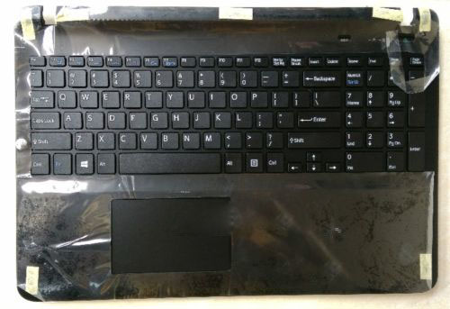 New for SONY Vaio SVF152C SVF153 svf152c29x palmrest English US laptop keyboard touchpad case black no backlit цены онлайн