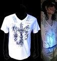 MJ Michael Jackson This is it Thriller de Edição limitada Branco Novidade T-Shirt Verão