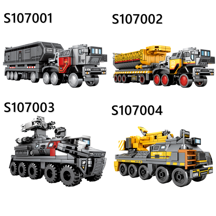 Technic The Wandering Earth Movie Cargotruck Transport Truck Car Building Blocks Sets Toys For Children Creator