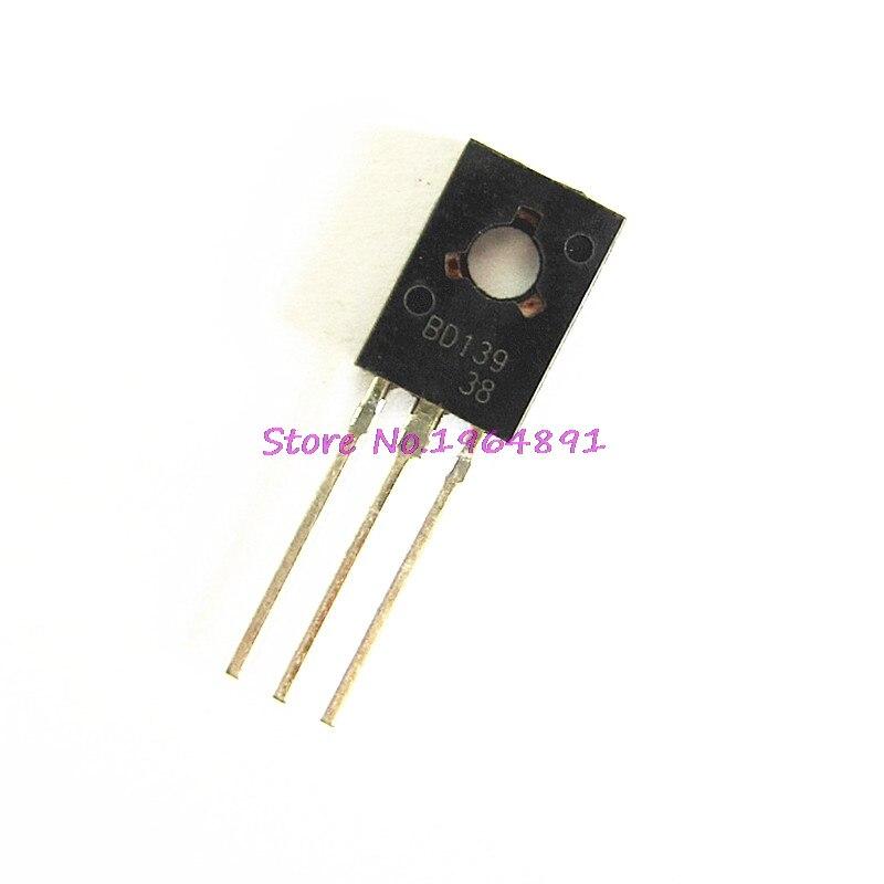 20pcs/lot BD139 D139 TO-126 1.5A 80V New Original In Stock