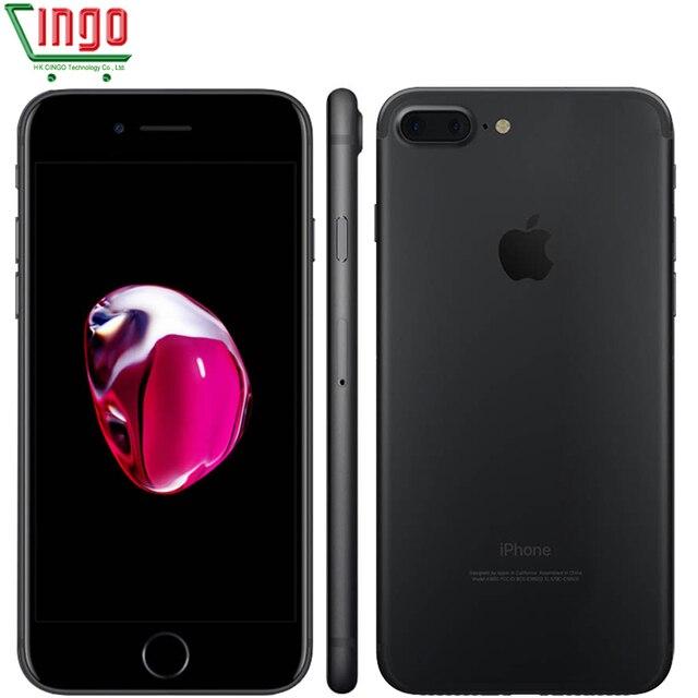 Оригинальный Apple iPhone 7 Plus 3 ГБ ОЗУ 32/128 ГБ/256 ГБ IOS 10 Сотовый Телефон LTE 12.0MP Камера Apple Quad-Core Отпечатков Пальцев 12MP 2910mA
