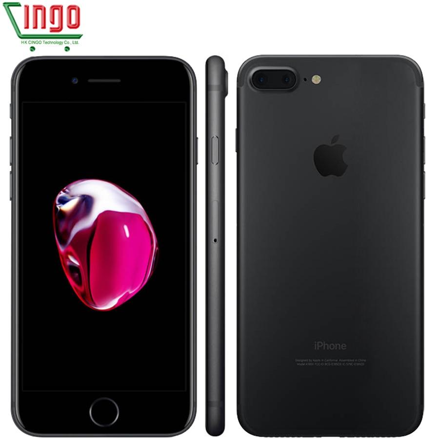 Apple iPhone 7 Plus 3 ГБ Оперативная память 32/128 ГБ/256 ГБ iOS 10 сотовый телефон LTE 12.0mp камера Apple quad-core отпечатков пальцев 12MP 2910ma