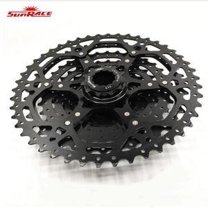 Image 4 - SunRace CSMX3 CSMS3 10 velocità 11 46T cassetta bici ruota libera pignone Mountain Bike cassetta nastro nero parti bici 10 velocità