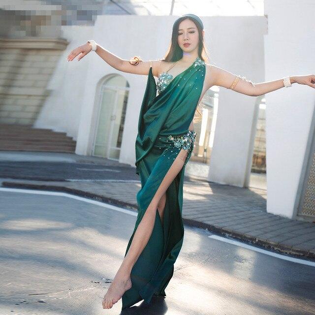 Belly dance eastern desert swings dance skirts bra dress costume for oriental dance dancing belt for belly dancing suit set 3816