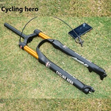 100 мм велосипедная амортизационная вилка для горного велосипеда, Велосипедная вилка, диаметр 32 мм 26 27,5 29
