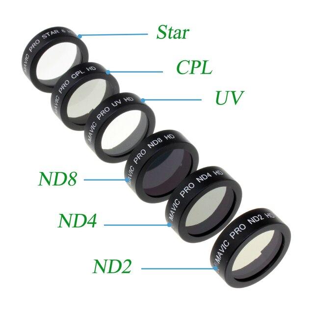 Фильтр nd4 mavic combo в наличии стекло для камеры для квадрокоптера мавик айр