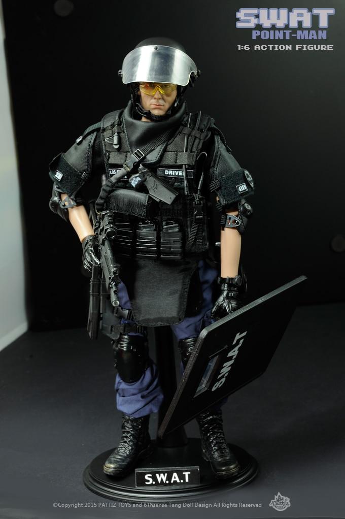 جديد شحن مجاني جديد وصول SWAT الجندي اللعب/ألعاب عسكرية (سوات نقطة رجل)-في شخصيات دمى وحركة من الألعاب والهوايات على  مجموعة 2