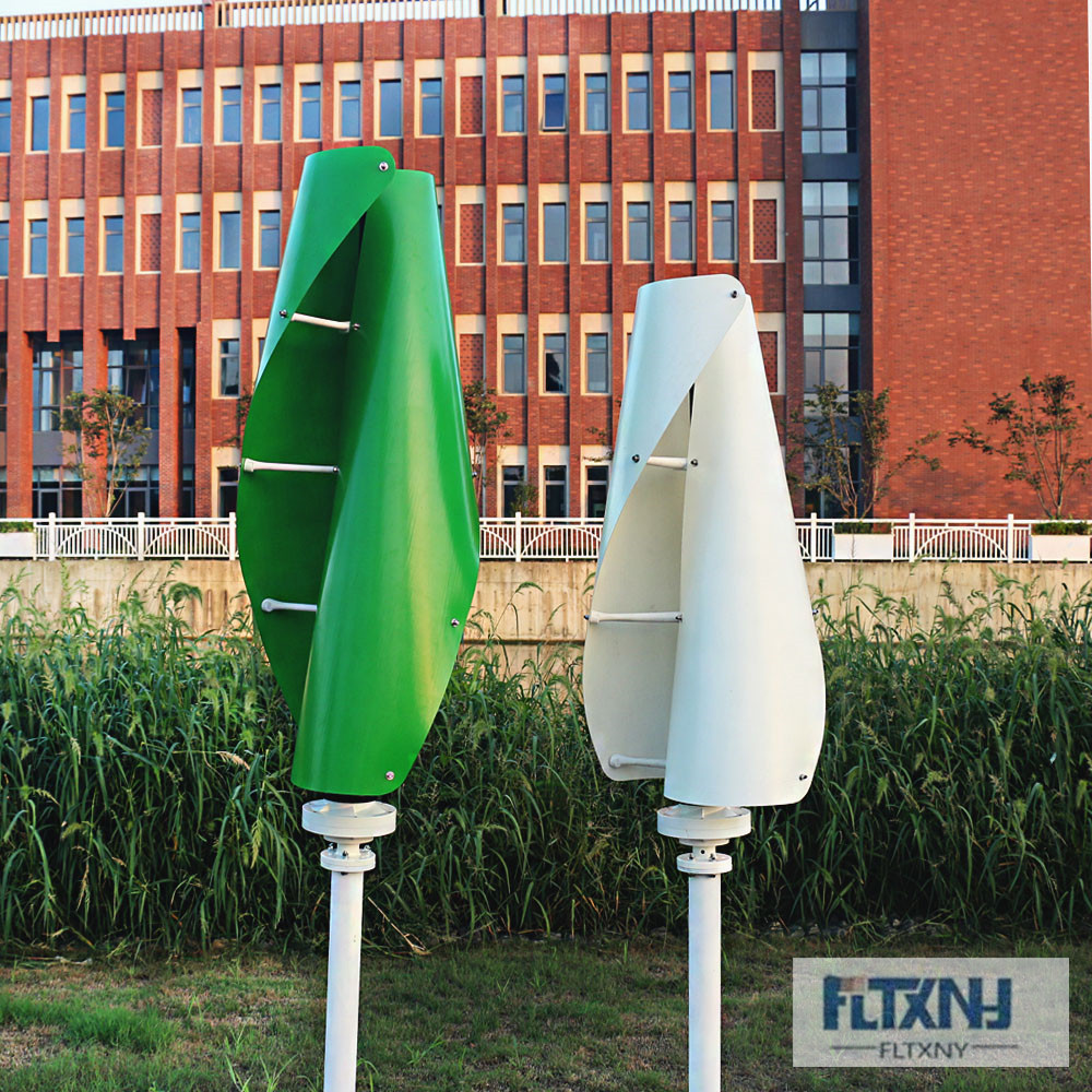 FLTXNY 1000W 2000W Vertical Wind Turbine Permanent Magnet Generator 3 Phase 600w 12V 24V Vertical Axis Coreless Wind Generator