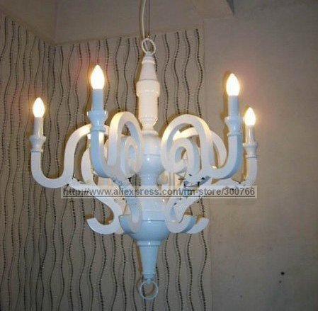 Italy White Faux Moooi PAPER CHANDELIER Chandelier Light,White Modern Chandelier+Free Shipping