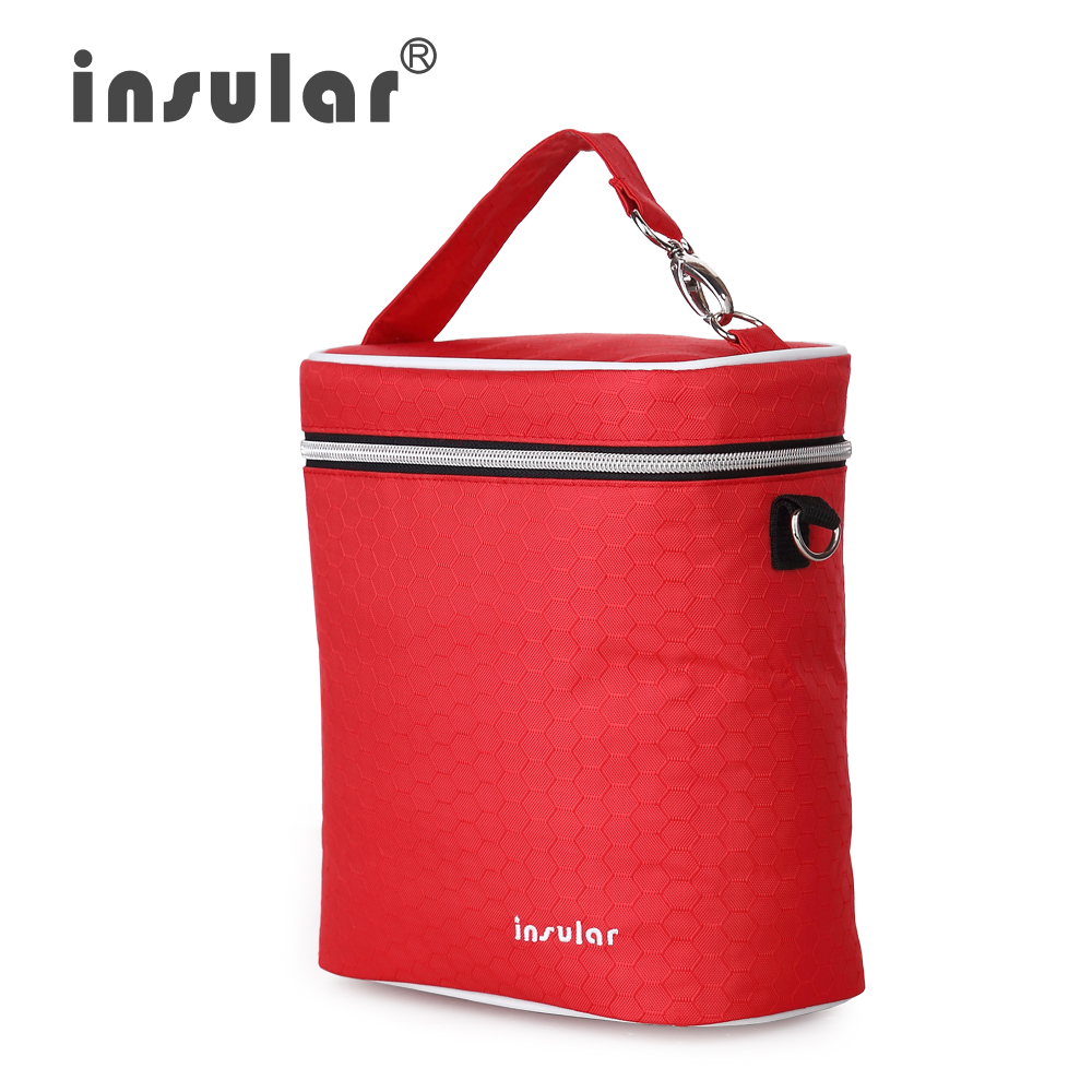 insular Diaper Bag Baby Milk Bottle Insulation Bags Mummy Storage Bag for Baby Stuff Collection Stroller Accessories Baby Care