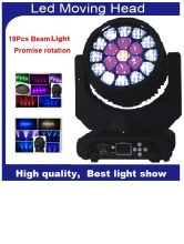 DHL Sharpy Zoom Bee Eye LED Beam Wash Moving Head Light  Cree Led Lamp 4in1 RGBW 19x15W Professional Strobe Disco Lighting
